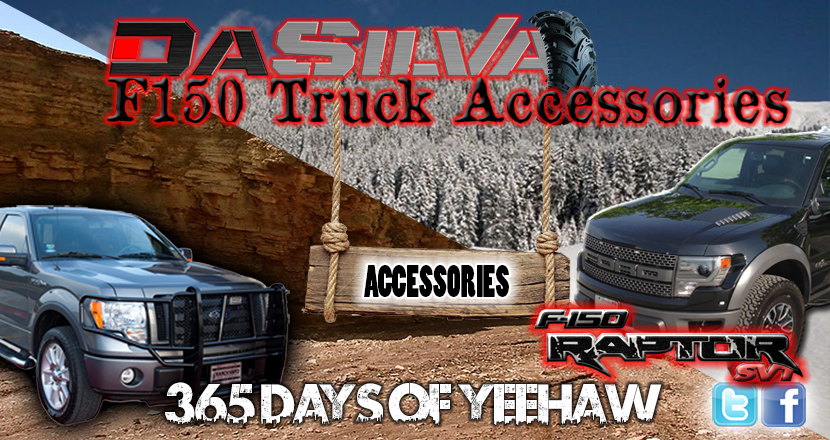 DaSilva F150 Truck Accessories Landing Page Banner
