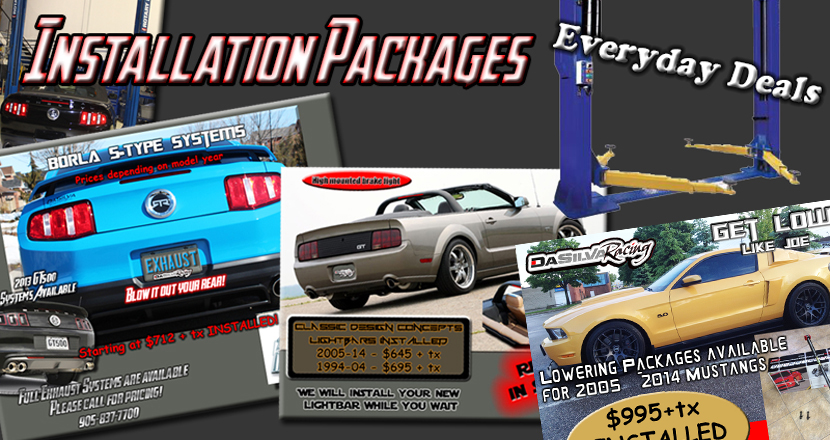 Installation Package 830 x 440