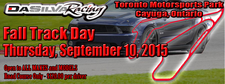 Banner - Facebook Event - 2015 Fall Track Day