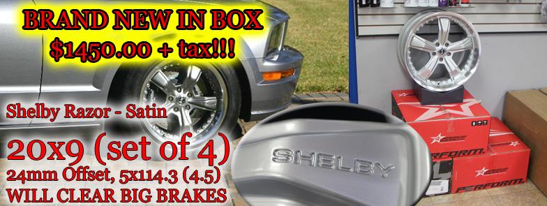 Shelby Wheels Sale